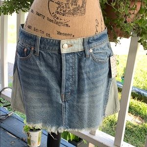 FreePeople Patched Up Indigo. Size 30. NWT.